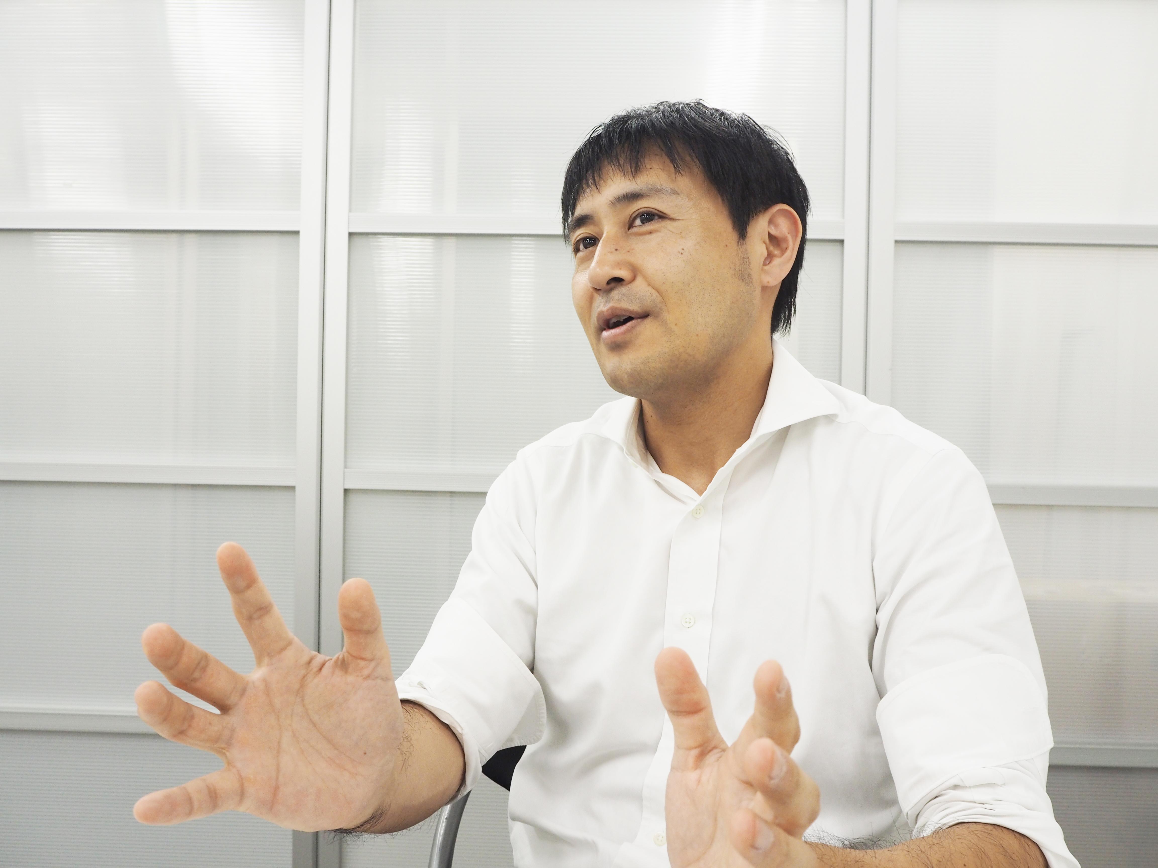 整体ショーツ開発者 小林篤史氏