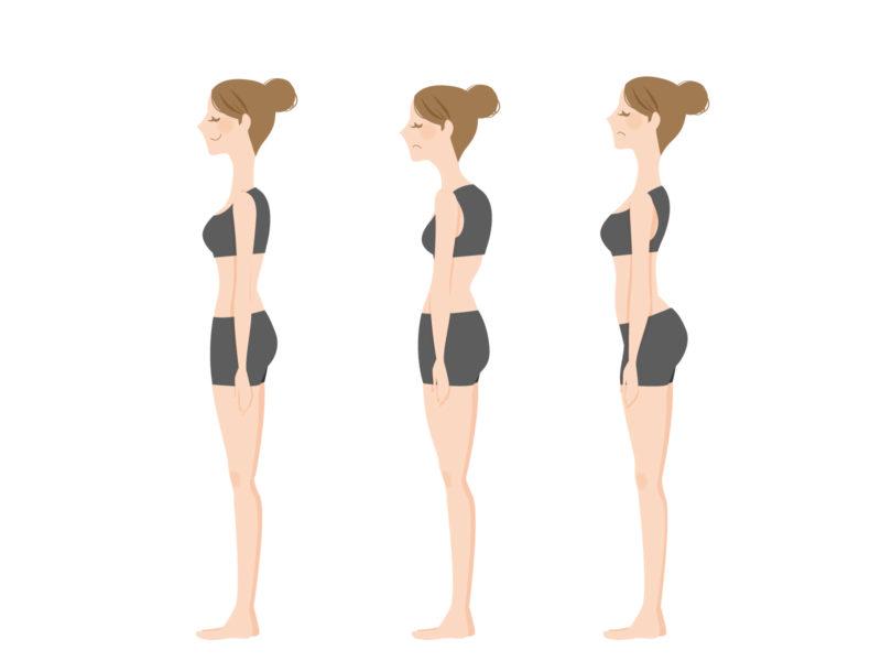 骨盤前傾後傾の特徴