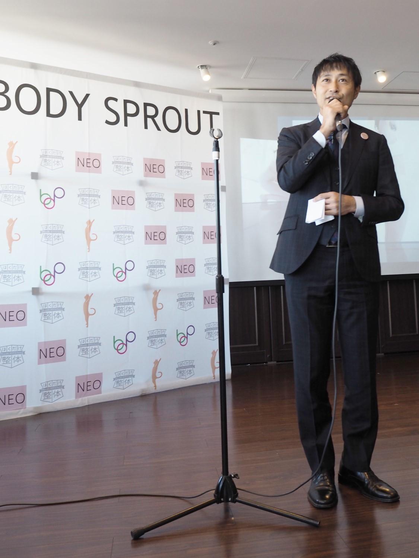 姿勢の専門家・小林篤史