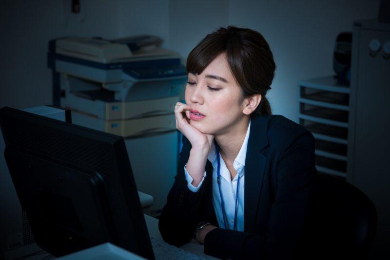 ストレス過多など心理的要因も腰痛の原因のひとつ