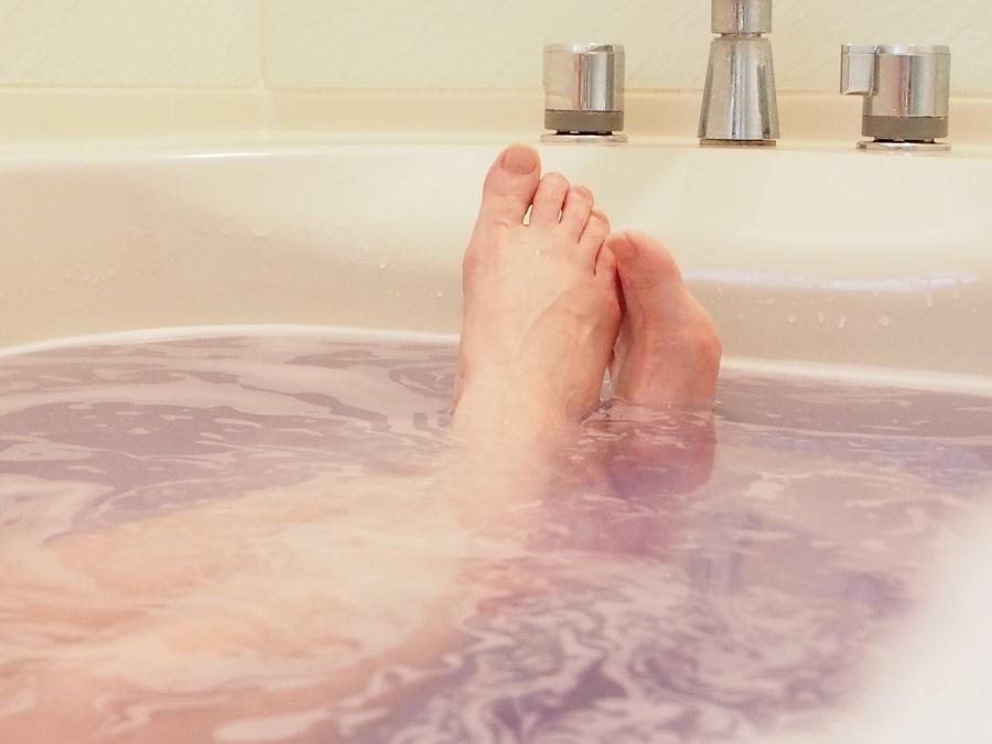 冷え性対策にはゆっくりお風呂