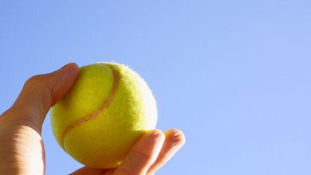 腰の痛みテニスボールマッサージ